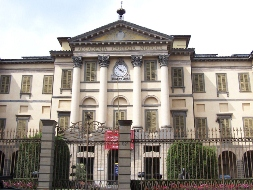 Car rental in Bergamo, Accademia Carrara, Italy