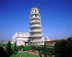Car rental in Pisa, Leaning Tower, Italy